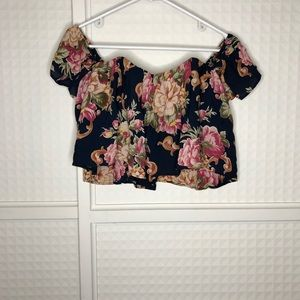 Stone Cold Fox Floral Holy Tube Top (size 1)